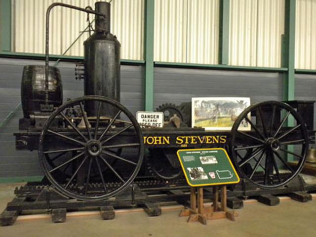 First full-sized railroad