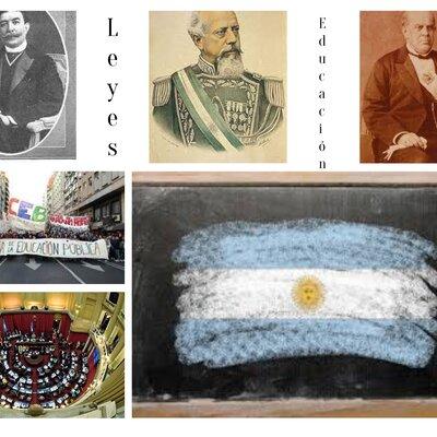 Datos Históricos en la Educación Argentina. timeline