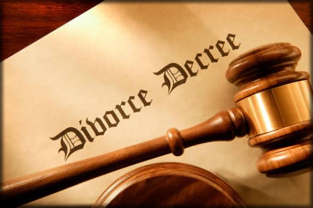 Divorce Rate Climbs