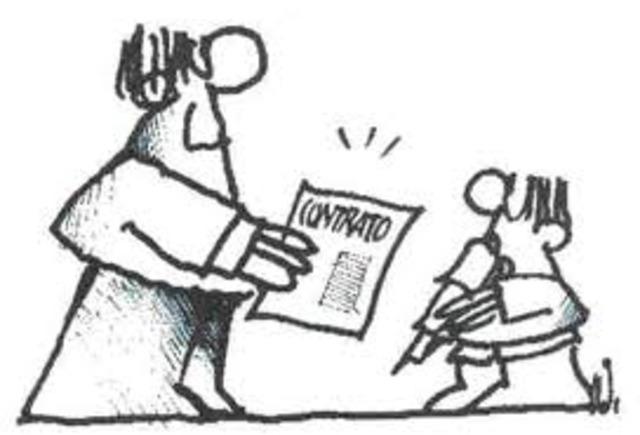 Definicion de contrato de trabajo