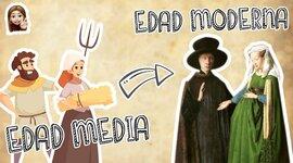 Edad media y Estado moderno timeline