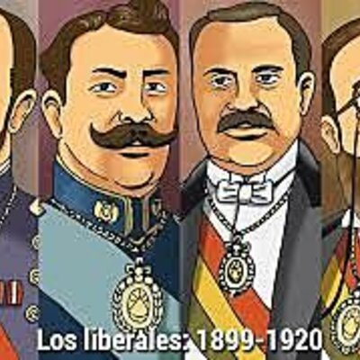 Gobiernos Liberales (1899-1920) timeline