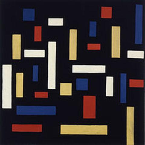 Mondrian - Theo Van Doesburg