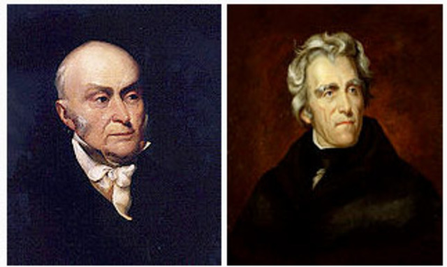 First and only presidential election that was decided by the House of Representatives