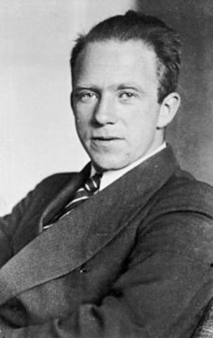 Werner Heisenburg Atomic Theory