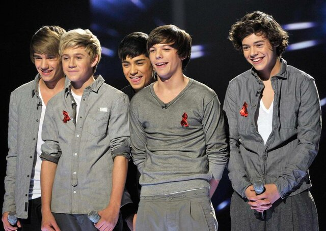 participating 1D in The X Factor
