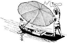 Primer registro de redes de pesca
