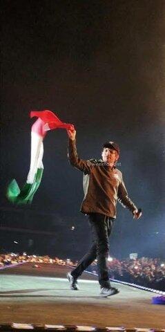 louis raised the Mexican flag