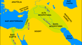antiga mesopotania timeline