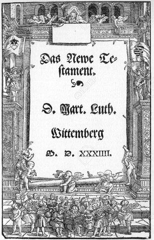 Nuevo Testamento de Lutero