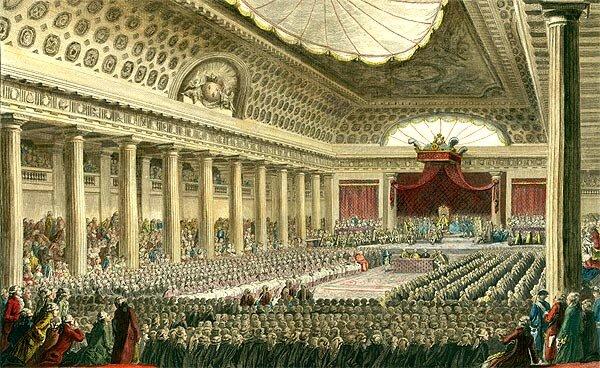 El inicio de la revolución, Asamblea nacional