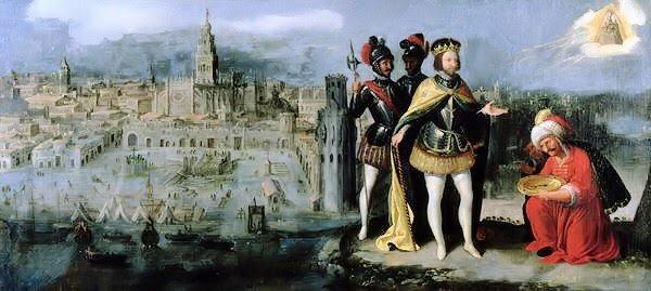 Conquista de Sevilla por Fernando III de Castilla