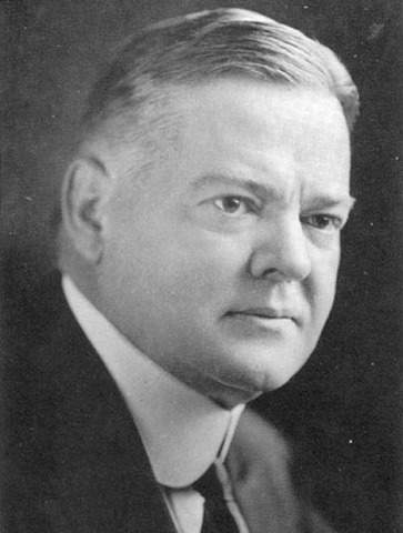 In order to combat the growing depression, President Herbert Hoover asks the U.S. Congress to pass a $150 million public works project to increase employment and economic activity