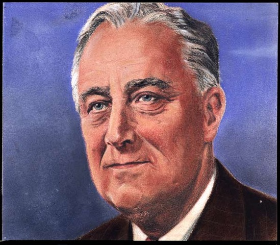 Democratic challenger Franklin D. Roosevelt defeats incumbent President Hoover in the presidential election for his first of an unprecedented four terms