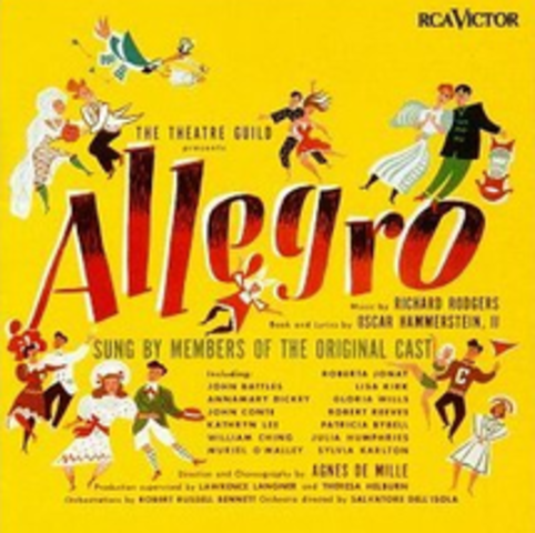 """Rodgers and Hammerstein- Opening of """"Allegro"""" on Broadway"""