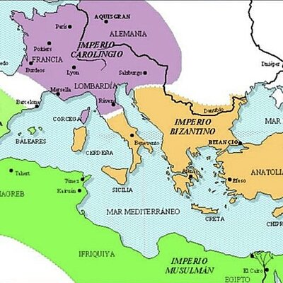 Imperios medievales, por, Marta Márquez Bejarano timeline