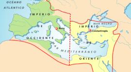 Imperios medievales, por: Elisa Sibaja García timeline