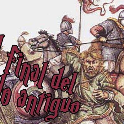 Eje cronológico Final del Mundo Antiguo -David Cintado timeline