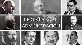 Evolución Teórica de la Administración timeline