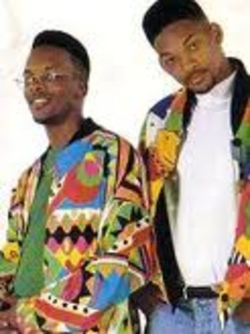 At the age of 12 Will Smith was influenced both by Eddie Murphy and new hip-hop heroes like Grandmaster Flash and began rapping