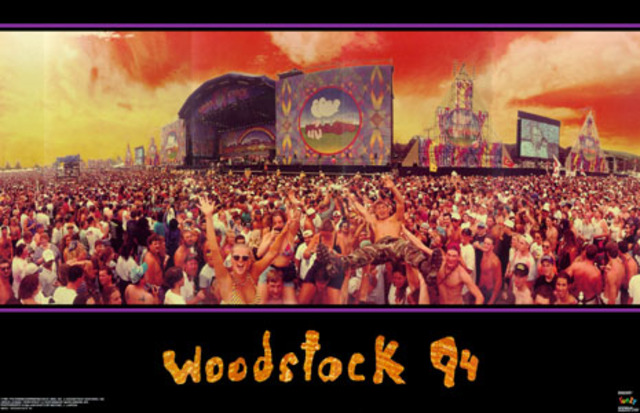 25th Anniversary of Woodstock