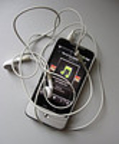 The music cellphone