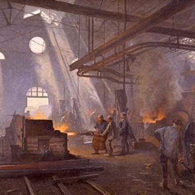Eje Cronológico Primera Revolución Industrial timeline