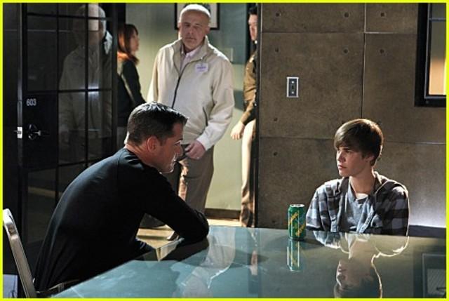 Justin Bieber Guest stars on CSI.