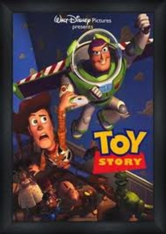 """The release of the film """"Toy Story"""""""