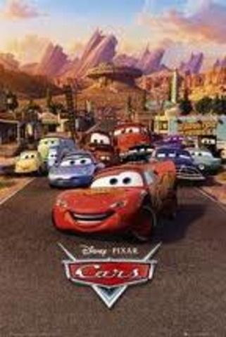 """Tthe release of the film """"Cars"""""""
