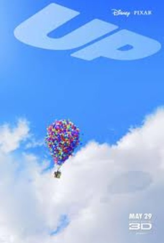 """The release of the film """"Up"""""""