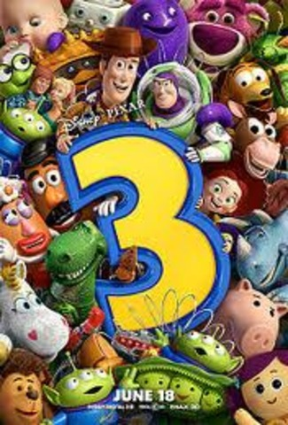 """The release of the film """"Toy Story 3"""""""