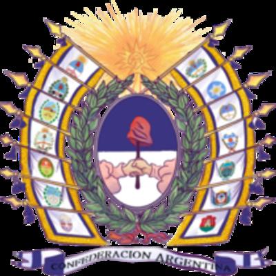 Historia; La Confederación Argentina timeline