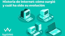 HISTORIA DE EL INTERNET timeline