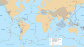 Historia de sucesos de placas tectonicas  timeline
