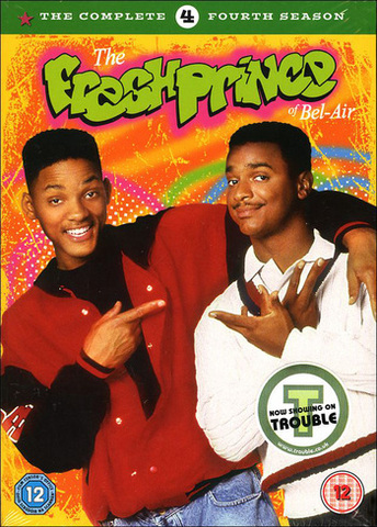 """Starred in """"The Fresh Prince of Bel-Air"""" which was about him"""