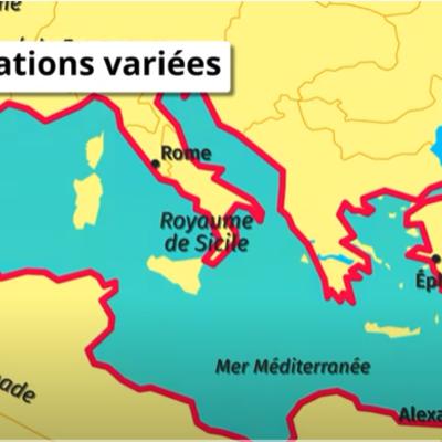 La Méditerranée, un espace de tensions timeline