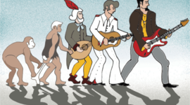 La història de la música timeline