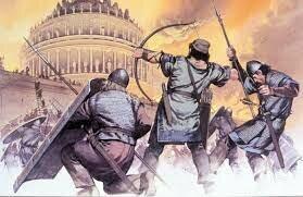 Inici de l'edat Mitjana (caiguda de l'imperi Roma)