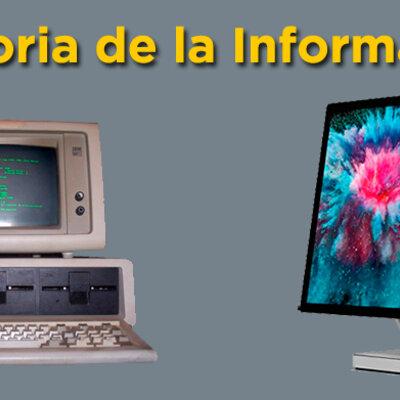 La historia de la Informática (Javier Rivera 1Bach C) timeline