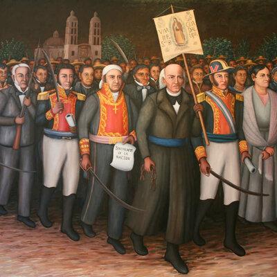 Estructura del estado mexicano timeline