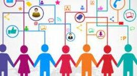 Comunicación en las Organizaciones y Momentos de la Comunicación timeline