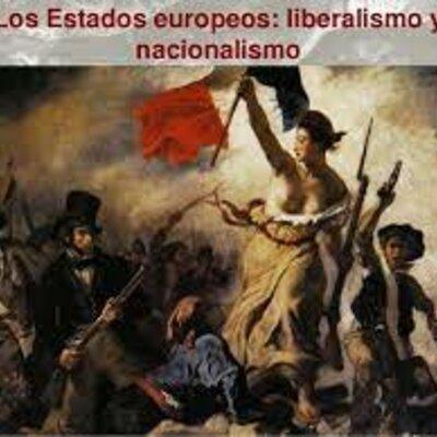 EJE CRONOLÓGICO UNIDAD 2: Liberalismo y Nacionalismo. timeline