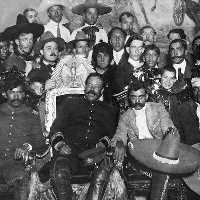 Principales acontecimientos de la Revolución Mexicana timeline