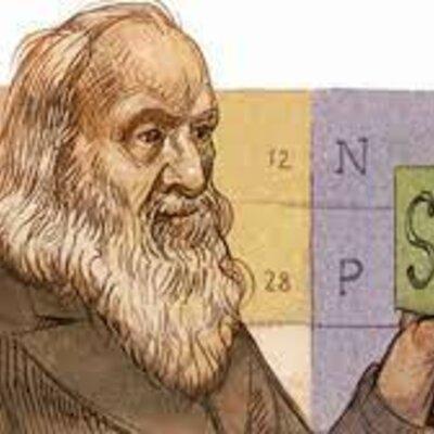 Historia de la tabla periódica timeline