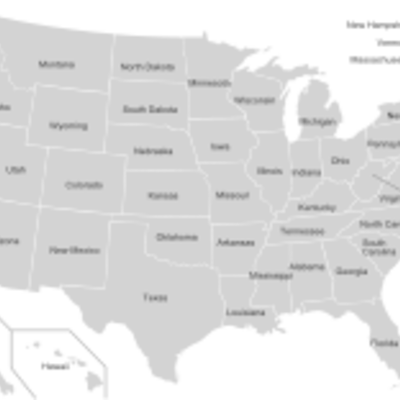 Nastanak i razvoj SAD-a timeline