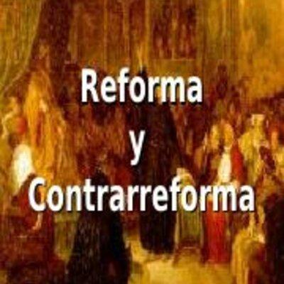 Reforma y contrarreforma timeline