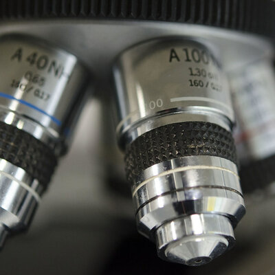 History of Microscopes timeline
