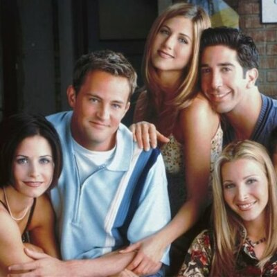"""The """"Friends"""" timeline"""