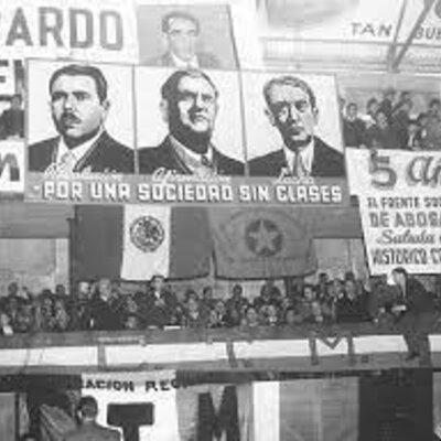 México 1940 a 1970 timeline